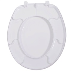 Assento Sanitário Polipropileno Premium Branco - Tupan