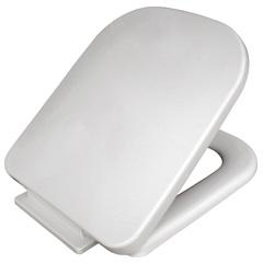 Assento Sanitário Soft Close Quadra/Piano Branco - Sicmol