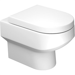 Bacia Convencional Carrara sem Fixação Branco Gelo Ref.: P60 - Deca