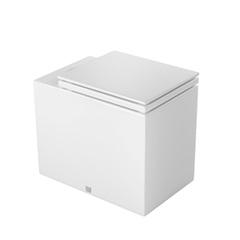 Bacia Convencional Cubo com Assento Branco Gelo P26c - Deca