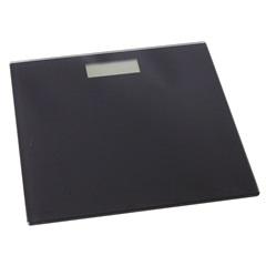 Balança de Banheiro Eletrônica Preto 28x28x1,8 Cm - Importado