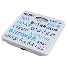 Balança de Banheiro Mecânica 25 X 25 X 5 Cm Ref. 1105002    - Importado