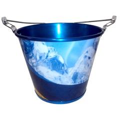 Balde em Alumínio Modelo Doctor Azul     - Doctor Cooler