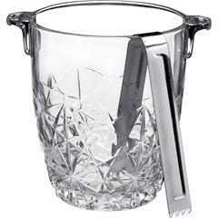 Balde para Gelo de Vidro com Pegador Bormioli 900ml - GS