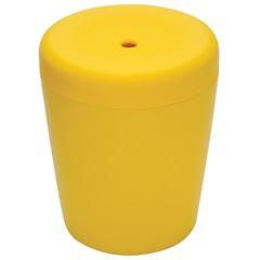 Banqueta Puff Multiuso Amarelo  - Tramontina