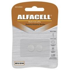 Bateria Alcalina 1,5v 2 Unidades - Alfacell