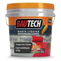 Bautech Manta Liquida Cinza 12 Kg - Bautech