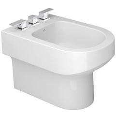 Bidê Carrara sem Fixação Branco Gelo B60 - Deca