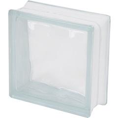 Bloco de Vidro Transparente Ondulado Sky19 X 19 X 8 Cm - Casanova