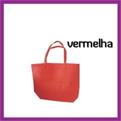 Bolsa Lavavel Vermelha                    - Chezi Design