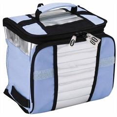 Bolsa Térmica em Poliéster Ice Cooler 7,5 Litros Azul - Mor