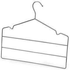 Cabide Triplo Cromado para Calça Ref.: 1006 - Arthi