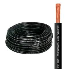 Cabo de Energia 750v 4mm² Flexicom com 50 Metros Preto - Cobrecom