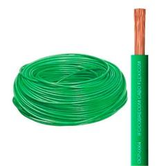 Cabo de Energia 750v 4mm² Flexicom com 50 Metros Verde - Cobrecom
