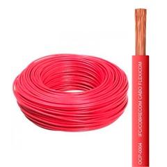 Cabo de Energia 750v 6mm² Flexicom com 15 Metros Vermelho - Cobrecom