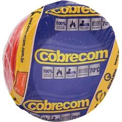 Cabo de Energia 750v 6mm² Flexicom com 50 Metros Vermelho - Cobrecom