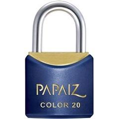 Cadeado Latão Cr20sm Azul Color Line - Papaiz