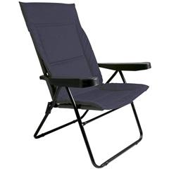 Cadeira Alfa 4 Posições Azul Ref. 2302 - Metalurgica Mor