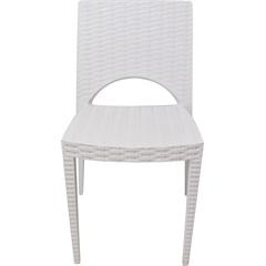 Cadeira Casabella Rattan Branca 6030 - Plasútil