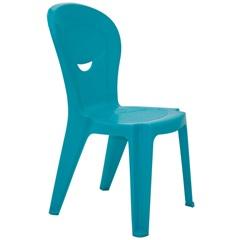 Cadeira de Plástico Infantil Vice Azul Linha Game  - Tramontina