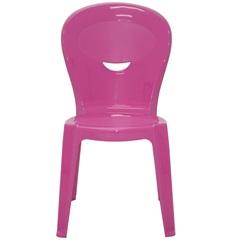 Cadeira de Plástico  Infantil Vice Pink Linha Game - Tramontina