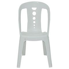 Cadeira de Plástico Jatiuca Branca para até 182kg - Tramontina