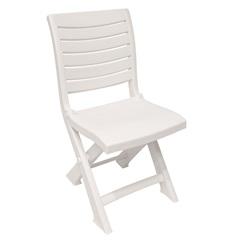 Cadeira Dobrável Confort Branca 6032 - Plasútil