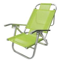 Cadeira em Alumínio Copacabana Verde - Botafogo