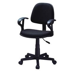 Cadeira Secretária com Braço Preta Ref. Ocilo1foa  - Landbond