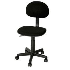 Cadeira Secretária com Pistão À Gás Preta Ref. Sc25501-Black  - Importado