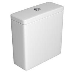 Caixa Acoplada com Acionamento Duo Unic/Piano/Polo E Quadra Branca