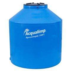Caixa D'Água Água Protegida Azul 2.500 Litros sem Acessórios - Acqualimp