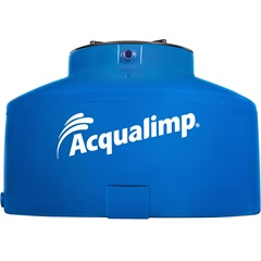 Caixa D'Água Água Protegida Azul 500 Litros sem Acessórios  - Acqualimp