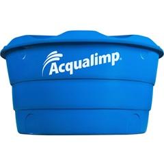 Caixa D'Água Dupla Proteção 500 Litros Azul - Acqualimp