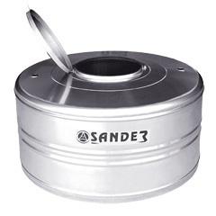 Caixa D' Água em Aço Inox 1.000 Litros Compacta Ac - Sander