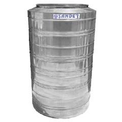 Caixa D' Água em Aço Inox 2.000 Litros Alta Capacidade Bg  - Sander