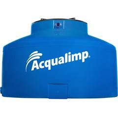 Caixa D'Água em Polietileno Água Protegida com 1500 Litros Azul - Acqualimp