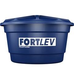 Caixa D'Água em Polietileno com Tampa 1000 Litros Azul - Fortlev