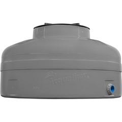 Caixa D'Água Fácil Instalação Cinza 500 Litros sem Acessórios  - Acqualimp