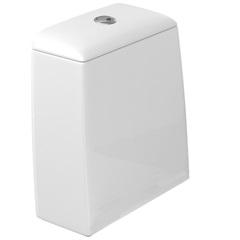 Caixa de Acoplar Dual Flux 3 E 6 Litros Duomo Plus Branco Gelo Cd12f - Deca