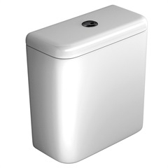 Caixa de Acoplar Dual Flux Carrara E Nuova Branco Gelo Cd11f  - Deca