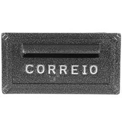 Caixa de Correio Alumínio Turquesa Ref: 051         - Prates & Barbosa