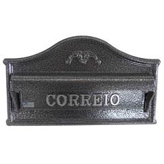Caixa de Correio em Alumínio Érica 23x36cm Prata - Prates & Barbosa