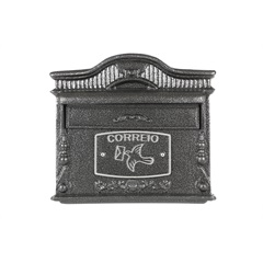 Caixa de Correio em Alumínio Gloria Ref. 043pt  - Prates & Barbosa