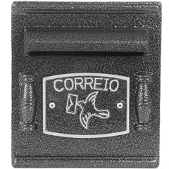 Caixa de Correio em Alumínio Repop Ref: 064 - Prates & Barbosa