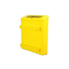 Caixa de Correio para Grade Amarela           - Goma Plásticos