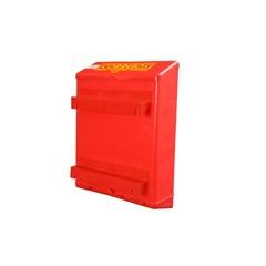 Caixa de Correio para Grade Vermelha  - Goma Plásticos