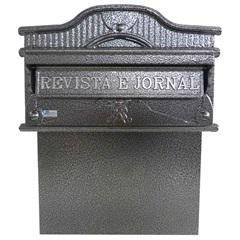 Caixa de Correio para Portão em Alumínio Imperial - Prates & Barbosa