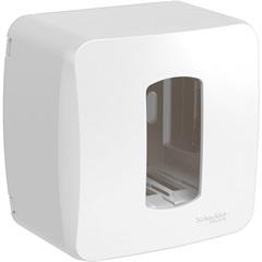 Caixa de Sobrepor Miluz para 1 Módulo Branca - Schneider