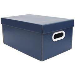 Caixa Office Pequena  Azul 17,5x24,5cm  - Boxgraphia